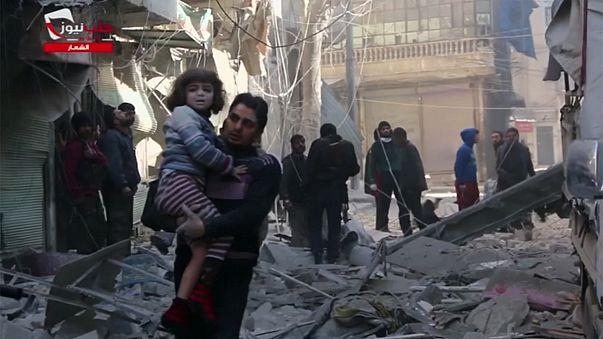 Síria:Bombardeamentos fazem várias dezenas de mortos em Aleppo