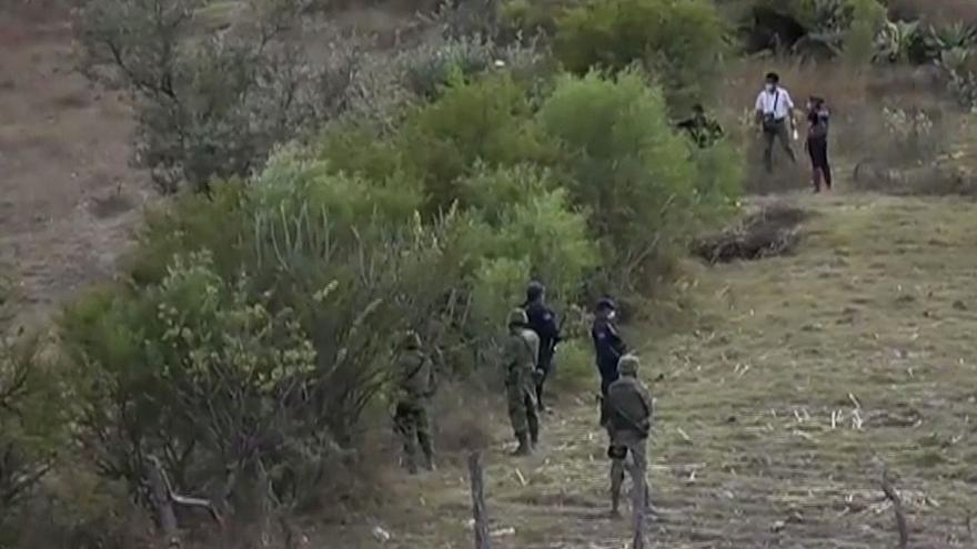 Mass grave discovery raises hopes for families of Mexico's 43 missing students