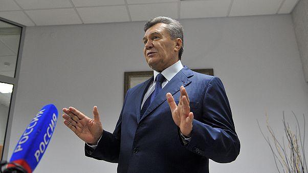 Viktor Yanukoviç'in ifadesi yarıda kesildi