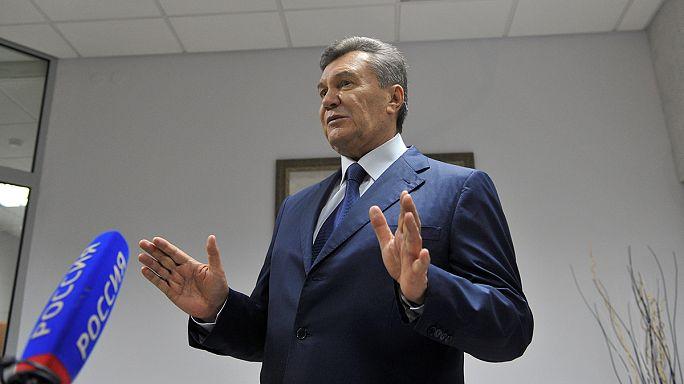 Допрос Януковича перенесли на 28 ноября
