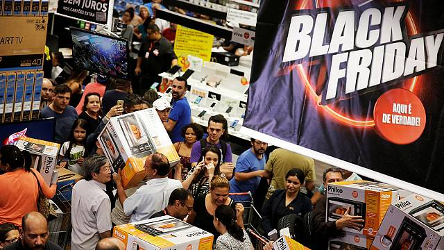 Black Friday boosts online sales in Britain and France