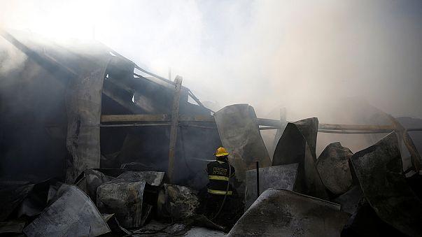 As wildfires rage Israeli police arrest 13 suspected arsonists