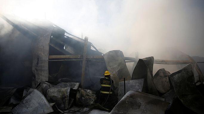 Continúa la lucha contra las llamas en el centro y norte de Israel