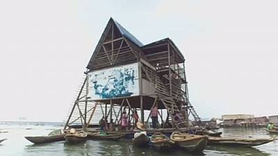 Four African projects, including collapsed Makoko floating school up for international awards