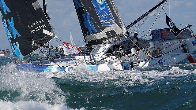 Vendée Globe: Алекс Томпсон - автор первого рекорда кругосветной гонки