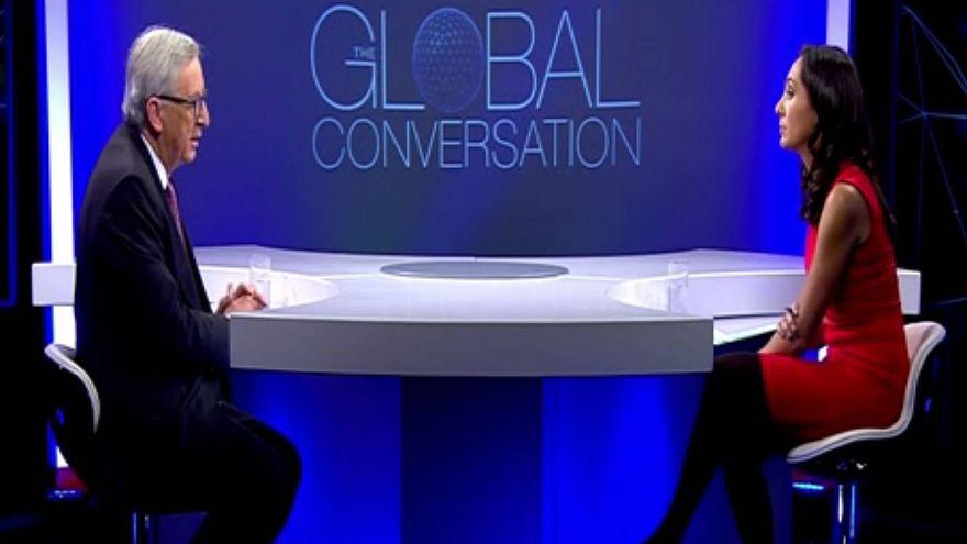 """Juncker: """"AB sığınmacı konusunda Türkiye'ye ders vermekten çekinsin"""""""
