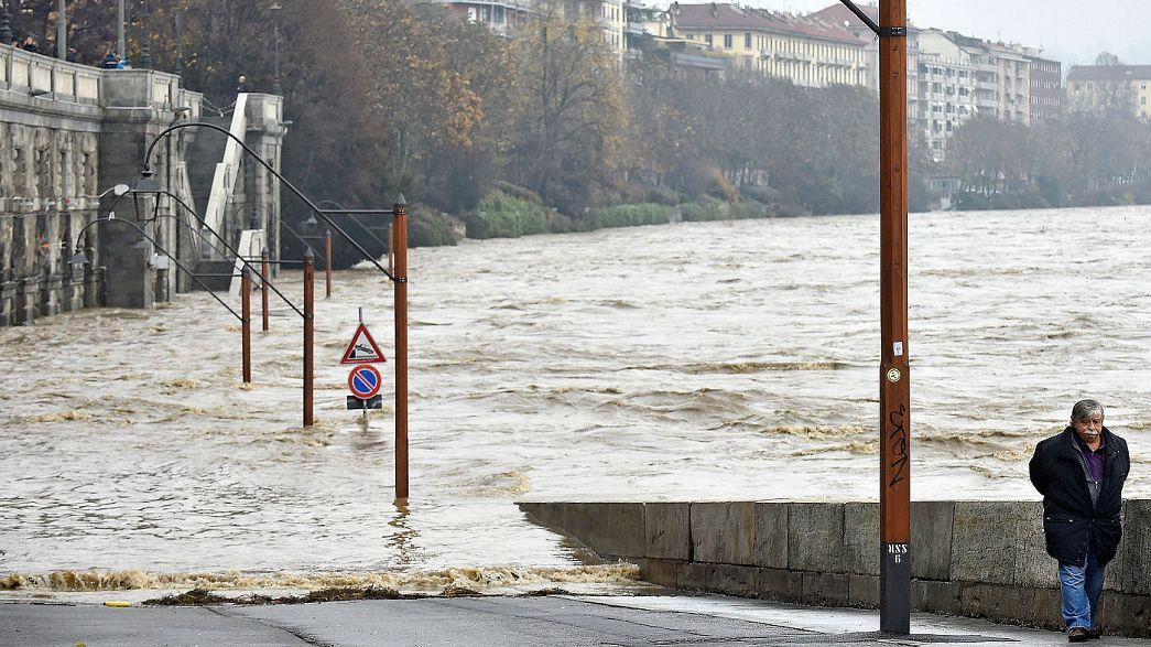 Etat d'urgence dans le nord-ouest de l'Italie après de graves inondations