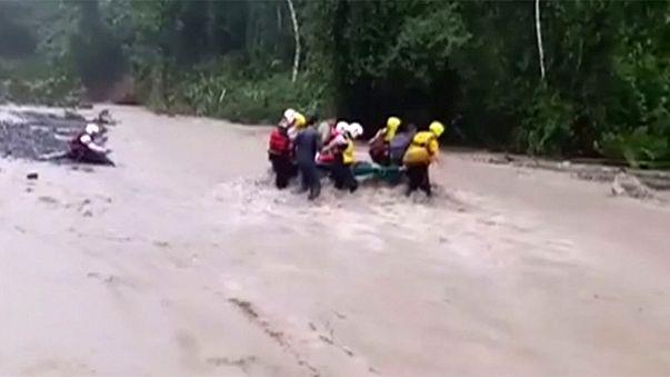 طوفان اتو در کاستاریکا دستکم ۹ کشته بر جای گذاشت
