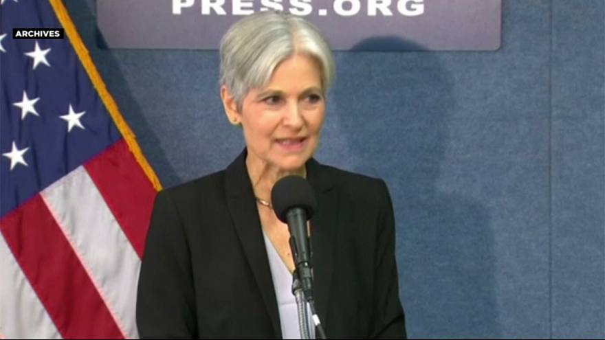 La líder del Partido Verde reclama el recuento de votos en tres estados de EEUU