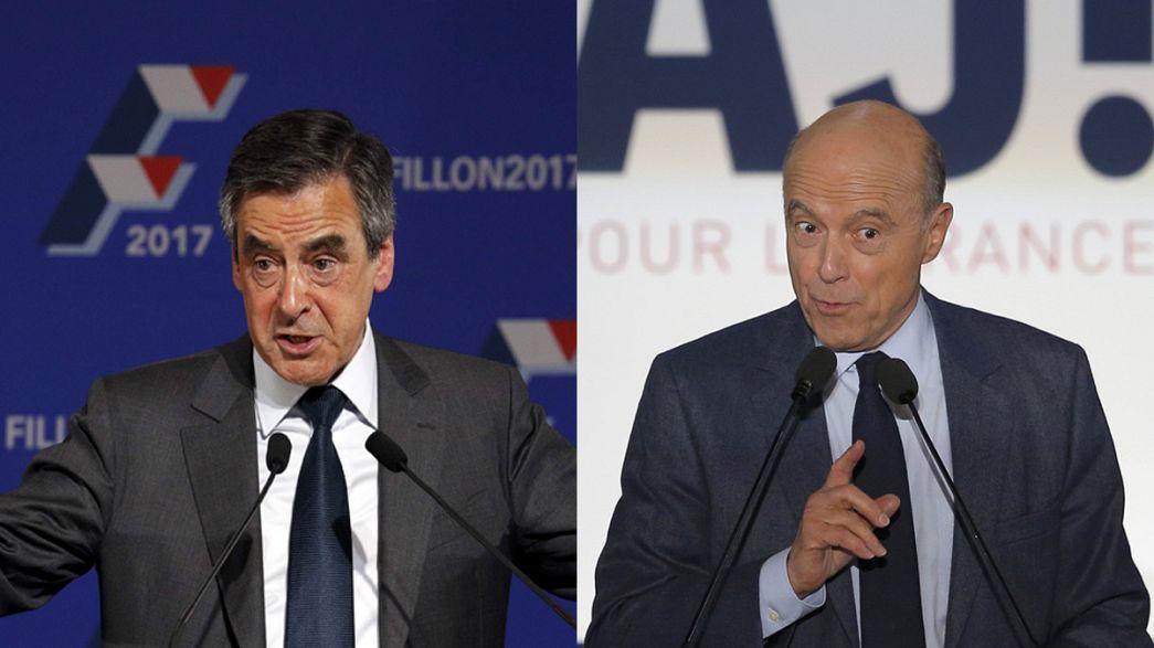 França: Duelo de dois antigos primeiros-ministros republicanos