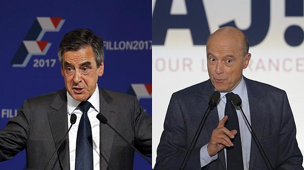 Fillon and Juppé talk tough on security before French conservative primary