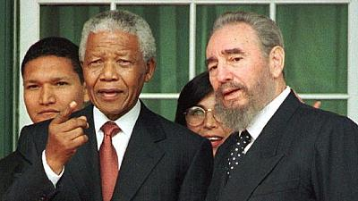 Mandela Foundation condoles with Cuba over death of Fidel Castro
