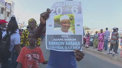 Gambia's opposition parties call for a change