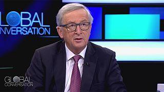 """Jean-Claude Juncker: """"Türkiye, Ürdün ve Lübnan mülteci sorunu konusunda tüm Avrupa'dan daha fazlasını yapıyor."""""""