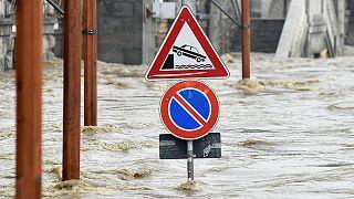 Víz alá került Észak-Olaszország