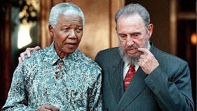[Photos] Castro and Africa: Nkrumah, Sankara, Mandela, Gaddafi and others