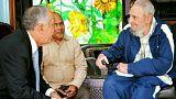 """Presidente de Portugal sobre Fidel: """"As minhas sinceras condolências ao Presidente Raúl Castro Ruz e ao Povo Cubano"""""""