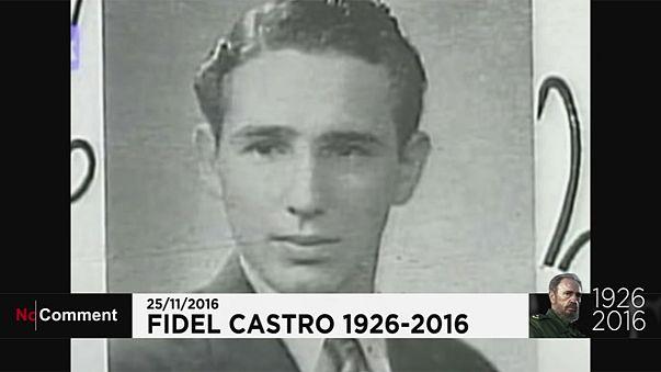 La vita Fidel Castro in immagini