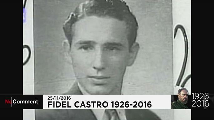 La vida de Fidel Castro en imágenes