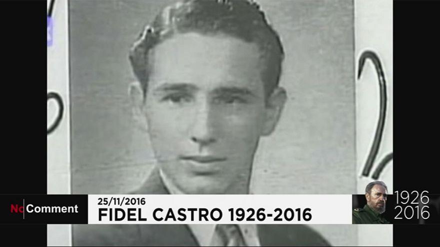 Fidel Castro élete képekben