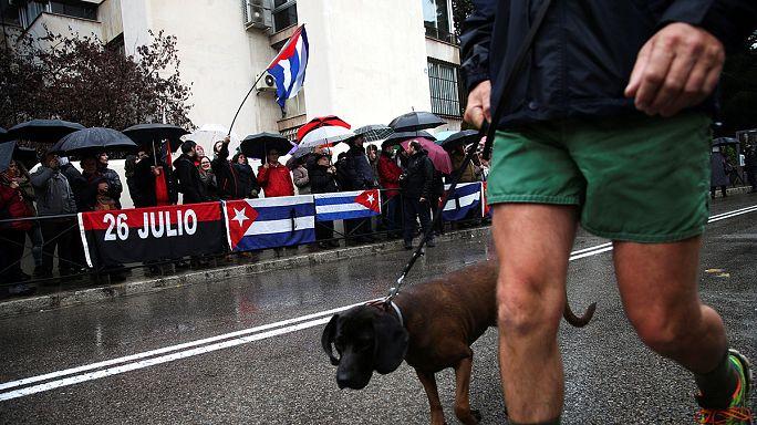 Avrupalı siyasiler Castro için ne dedi?
