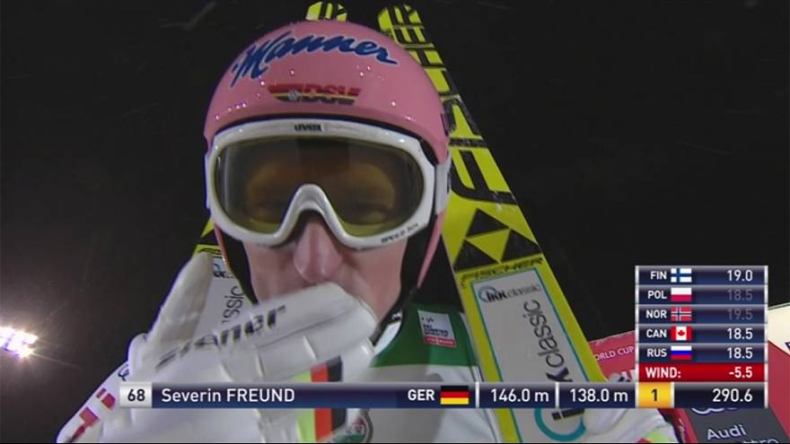 Ski Jumping: Freund returns to winners circle at Ruka