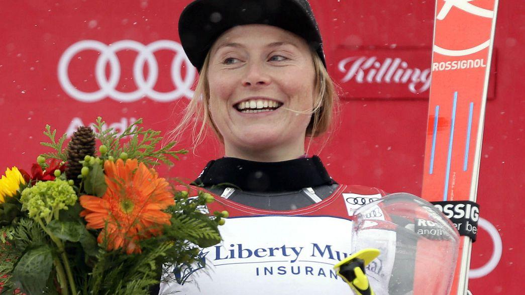 Esqui Alpino: Tessa Worley conquista slalom gigante de Killington