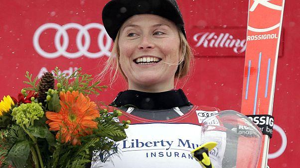Тесса Уорли выиграла гигантский слалом в Киллингтоне