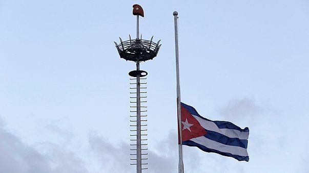 La Habana, apenada pero tranquila tras la muerte de Castro