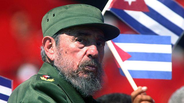 Fidel Castro cremado em Havana