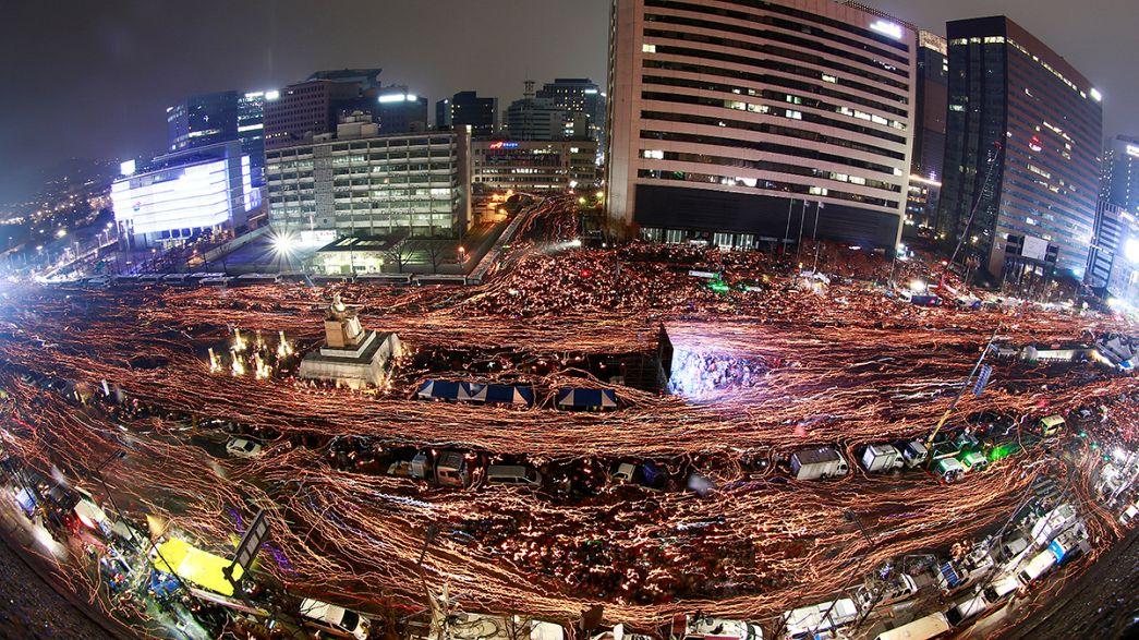 Coreia do Sul: Quinta semana de protestos em Seul