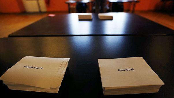 El centro-derecha francés elige hoy en las urnas a su candidato para las presidenciales