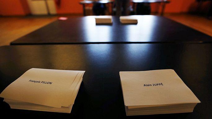Французы выбирают кандидата от правоцентристов