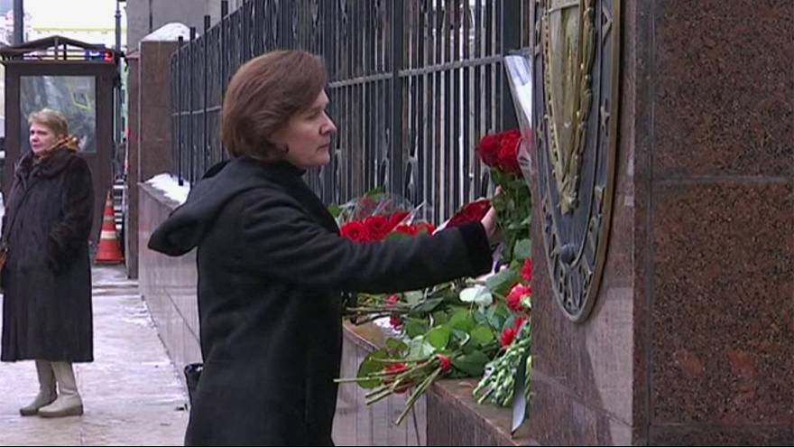 Russia: Flowers for Castro