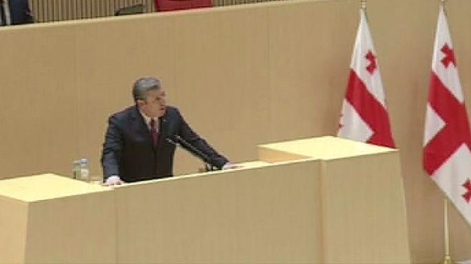 Georgian parliament approves re-election of Giorgi Kvirikashvili