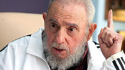 """Angolans remember Fidel Castro call him """"son of Africa"""""""