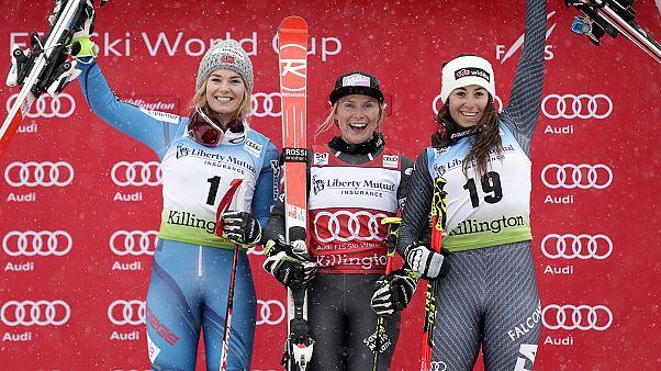 Gravity: Souveräner Slalom-Sieg für Super-Star Shiffrin