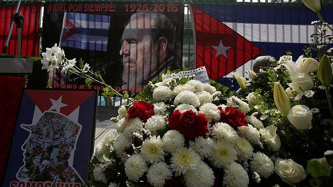 Куба: в Гаване начинается церемония прощания с Кастро