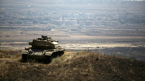 Izraeli gépek bombázták a Golan-fennsíkot