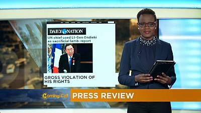Press Review of November 28, 2016 [The Morning Call]