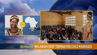 Malawian chief terminating child marriages [The Morning Call]