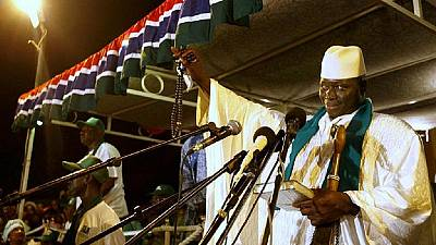 Gambia's president warns against any form of election violence