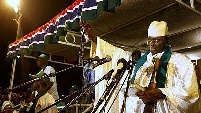Le président Jammeh menace les fauteurs de troubles