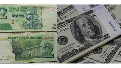 Zimbabwe outdoors bond notes equal to US dollar to cure cash crunch