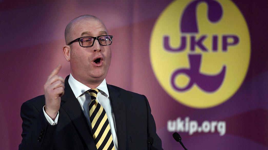 Reino Unido: Paul Nuttall eleito líder do UKIP