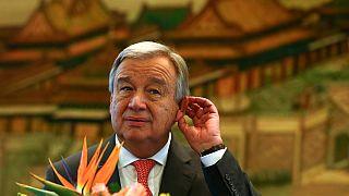 Antonio Guterres en visite à Pékin