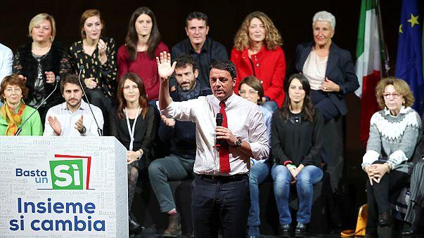 Renzi lemond, ha a népszavazáson elbukik a reform
