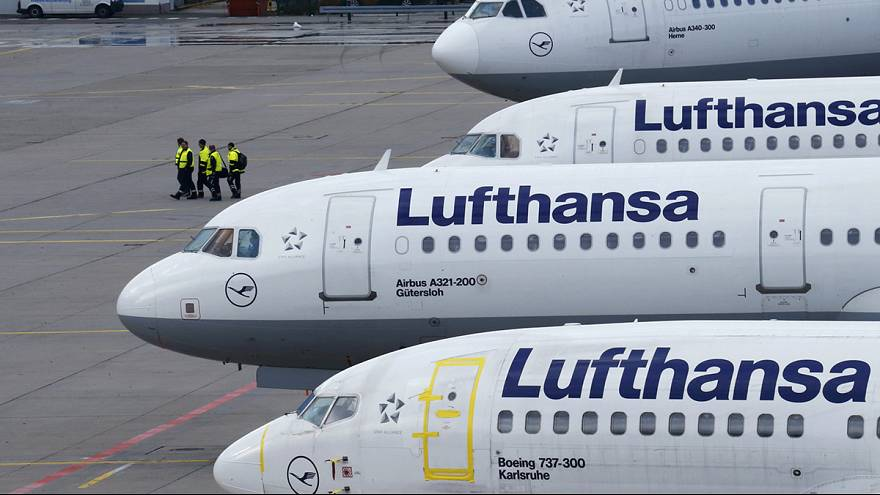 Lufthansa cancels 1,700 flights as two day pilots' strike looms