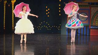 Danish Queen designs Nutcracker costumes