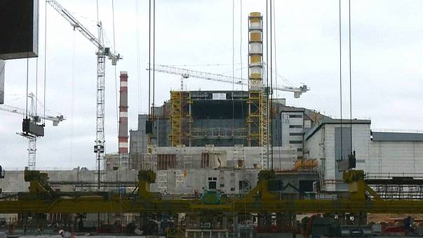 Ucrânia inaugura cúpula de proteção do reator que explodiu em Chernobyl